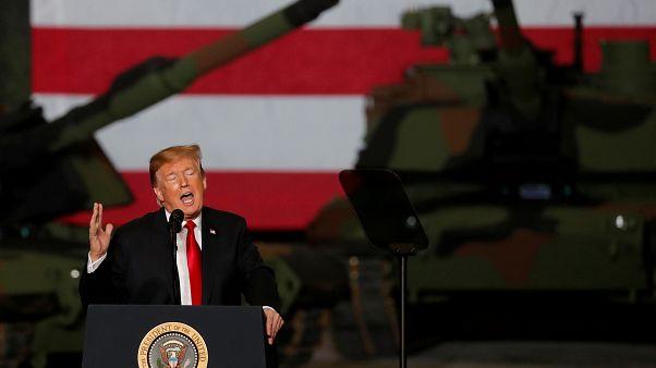 El presidente Donald Trump en Lima, Ohio. Estados Unidos. 20 de marzo 2019.