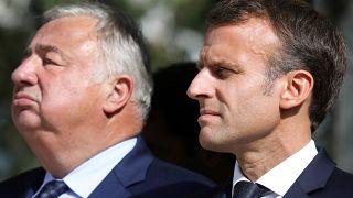 Affaire Benalla : Emmanuel Macron et Gérard Larcher, le président du Sénat