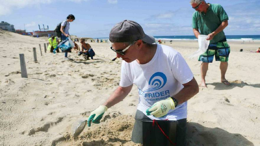 European waste collections Ocean Initiatives by Surfrider Foundation
