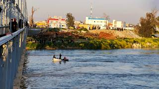 Iraq ferry sinking: Nearly 80 killed after overloaded vessel sinks