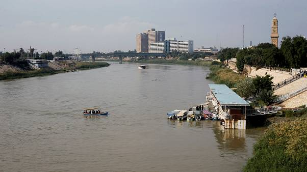 Tigris river in Iraq- file photo November 2019