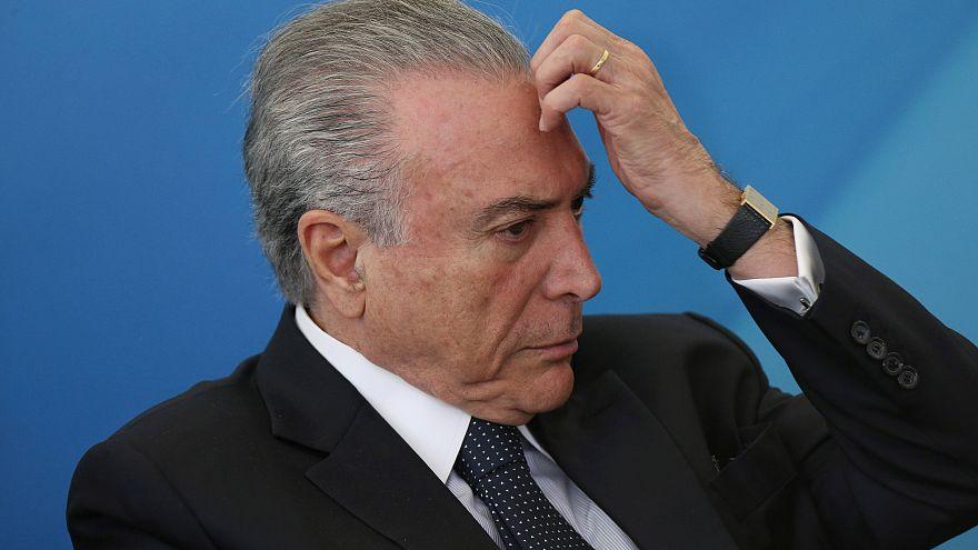 Brezilya eski Devlet Başkanı Temer için tahliye kararı