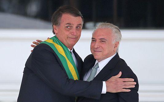 L'ex-président brésilien Michel Temer arrêté dans une enquête anticorruption
