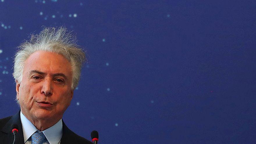 Michel Temer detido na operação Lava Jato