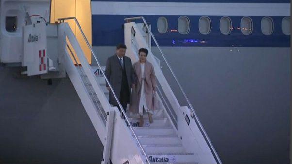 Il presidente cinese Xi Jinping è atterrato a Roma