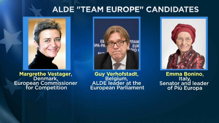 """Team Europe"" defends liberalism in European elections"