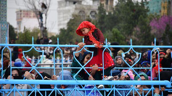 مراسم نوروز مزارشریف در فضای امنیتی با حضور اشرف غنی برگزار شد