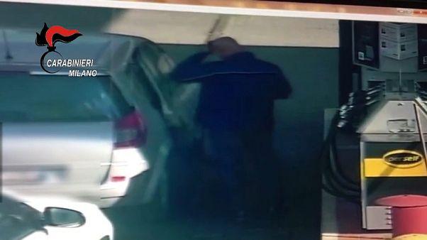 Italien: Polizei veröffentlicht Video des Schulbusgeiselnehmers