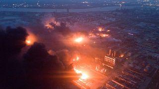 Çin'de tarım ilaçları fabrikasında patlama: En az 47 ölü, 640 yaralı