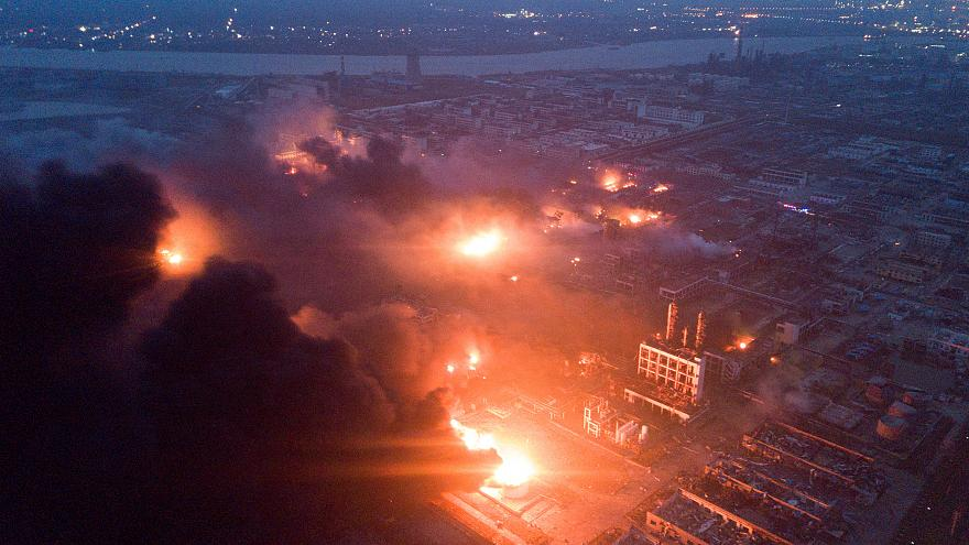 47 dead, over 600 injured in blast at Chinese plant
