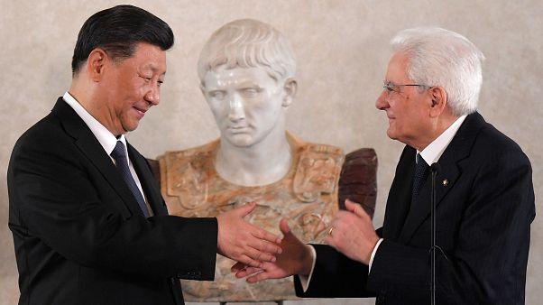 Xi Jinping comienza en Italia su gira comercial europea