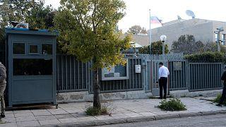 Gránátot dobtak az athéni orosz nagykövetségre