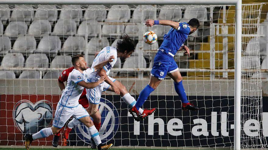 EURO 2020: Η Κύπρος συνέτριψε 5-0 το Σαν Μαρίνο