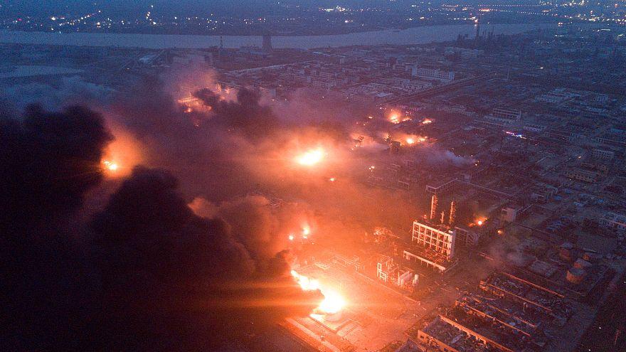 مقتل 47 وإصابة 640 في انفجار بمصنع كيماويات في الصين
