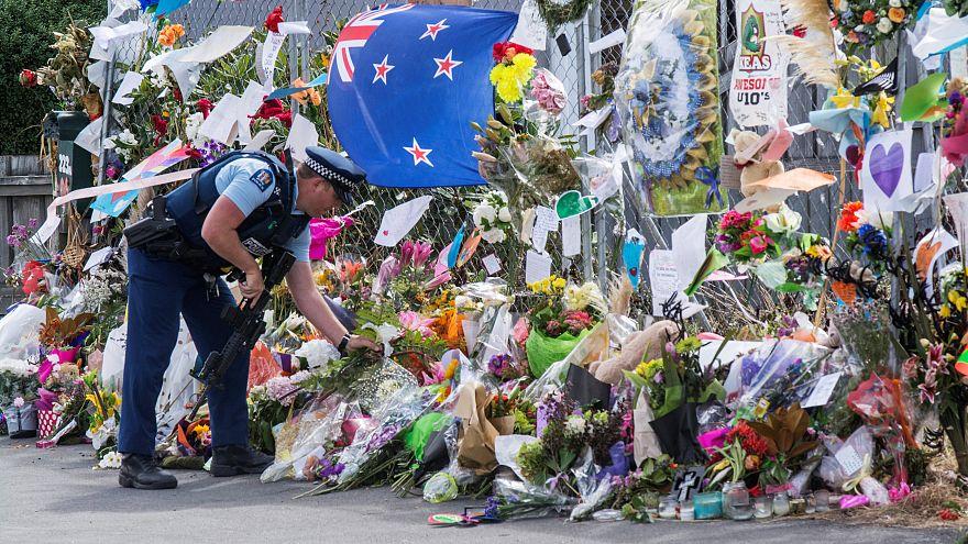 В память о жертвах терактов в Крайстчёрче