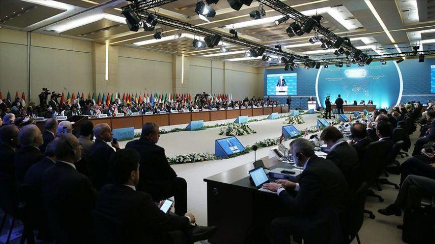 İslam İşbirliği Teşkilatı İstanbul'daki olağanüstü toplantıda Yeni Zelanda'yı görüştü