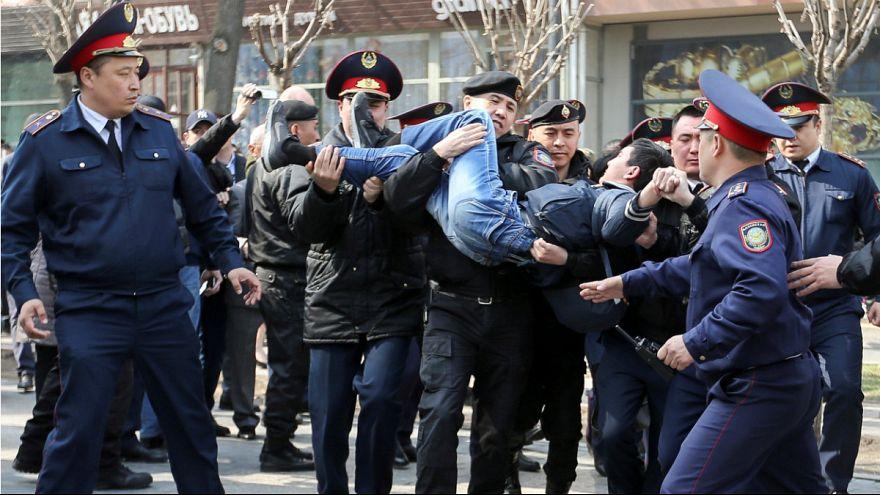 تظاهرات در قزاقستان