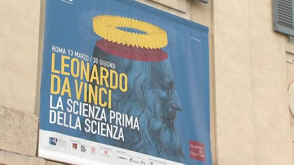 Il genio di Leonardo in mostra alle Scuderie del Quirinale