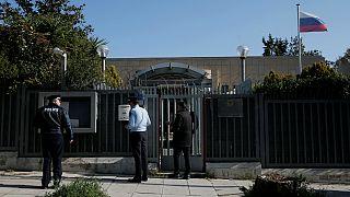 حمله نافرجام نارنجکی به کنسولگری روسیه در آتن