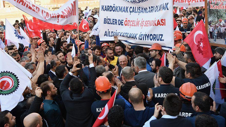 Dövizdeki yükselişe rağmen Türkiye'de asgari ücret Euro bazında 10 yılda yüzde 36 arttı