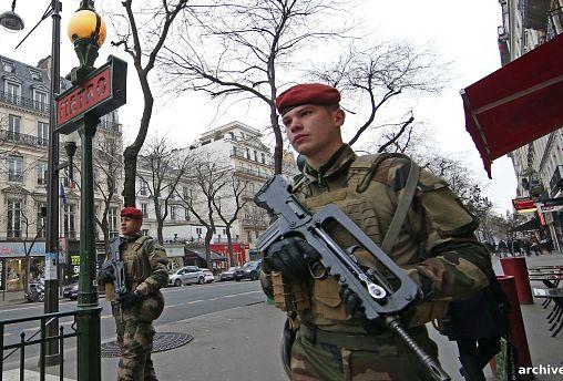 Paris: Sperrzone für Gelbwesten