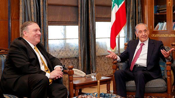 نبیه بری به پمپئو: تحریم حزبالله بر لبنان تبعات منفی دارد