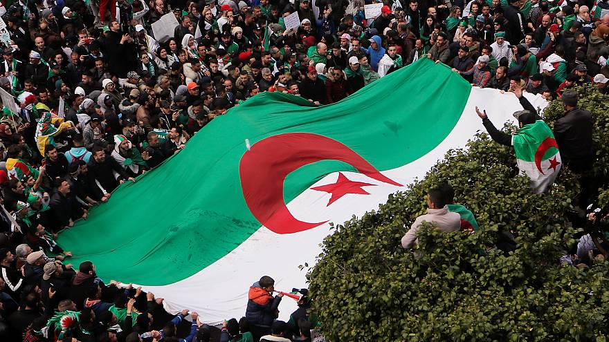 Manifestants à Alger, 22/03/2019