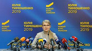 یولیا تیموشنکو، نخست وزیر سابق اوکراین و نامزد انتخابات ریاست جمهوری