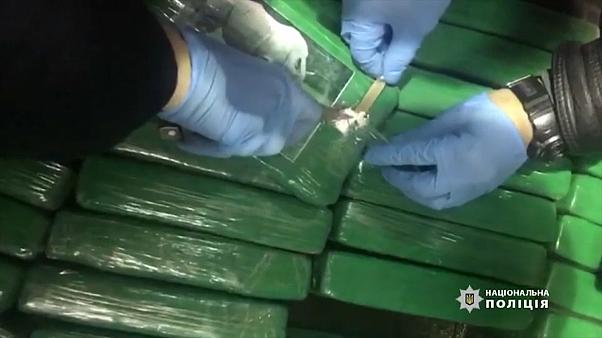 Apreendida cocaína avaliada em 45 milhões de euros