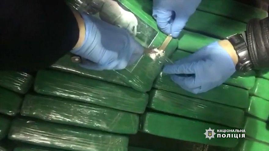 Európába tartó hatalmas kokainszállítmányt állítottak meg Odesszában