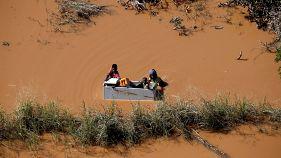 Desesperación en Mozambique tras el paso del ciclón Idai