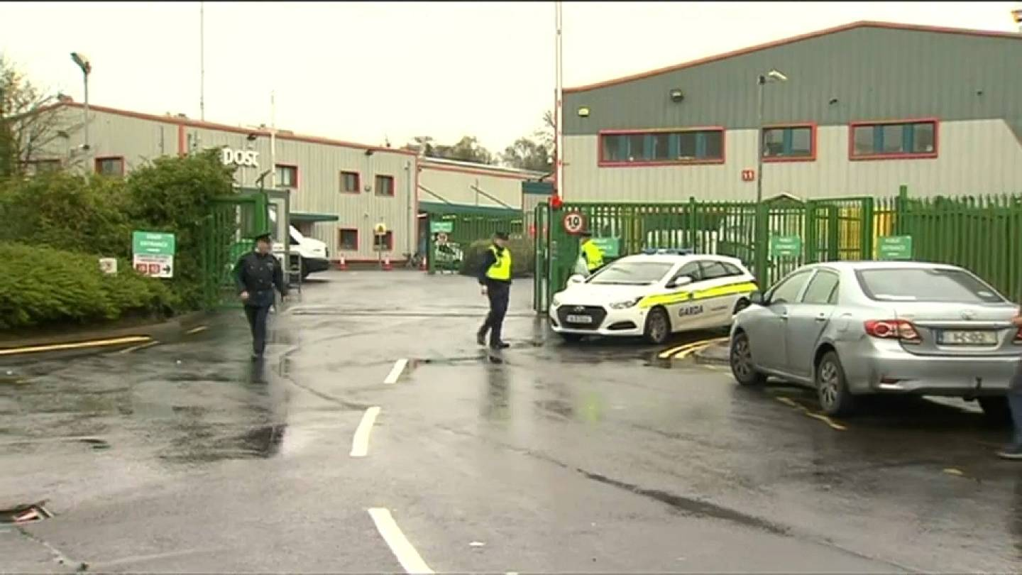 Suspicious package discovered at postal depot in Ireland