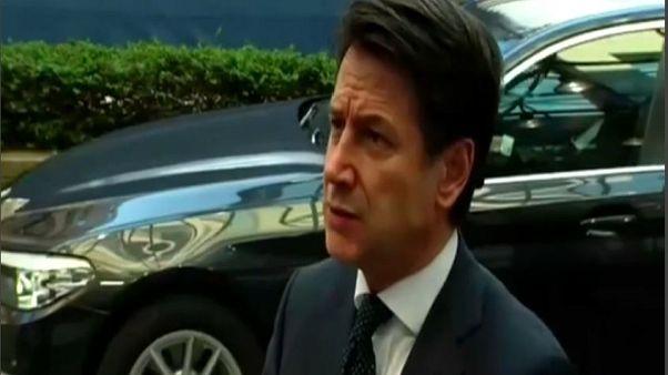 """Banche, Conte: """"Giusta azione risarcitoria contro Ue"""""""