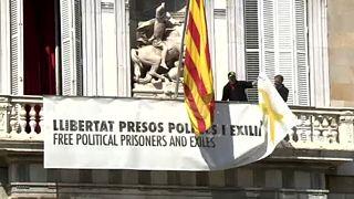 Continúa el pulso de la simbología independentista en Catalunya