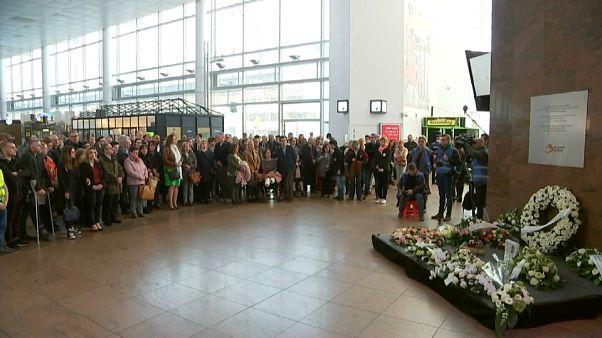 Commémoration des attentats de 2016 à Bruxelles