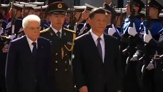 Στην Ιταλία ο πρόεδρος της Κίνας