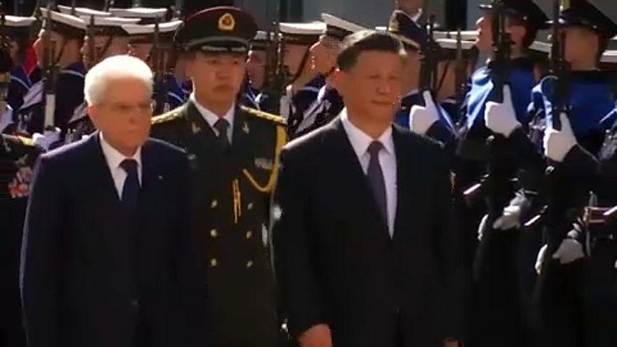 Italie : Xi Jinping défend ses routes de la soie