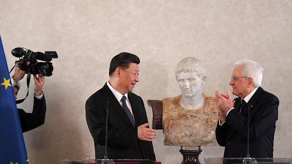 Xi Jinping, Roms erster Kaiser Augustus, Sergio Mattarella