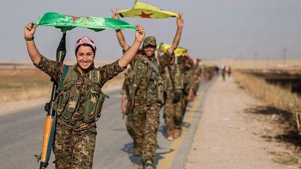 واشنگتن: داعش شکست خورد؛ کردها: نبرد باغوز ادامه دارد