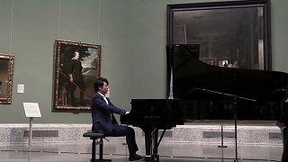 Starpianist Lang Lang spielt im Madrider Prado
