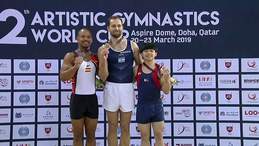 Дервал и Шатилов выиграли Кубок мира по спортивной гимнастике