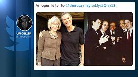 """""""Meine liebe Theresa"""": Uri Geller (72) will Brexit aufhalten"""