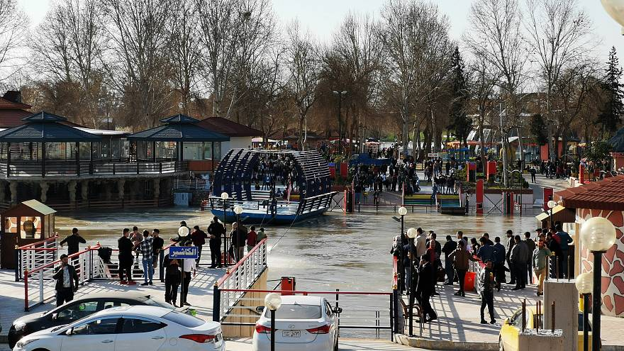 Anger and grief over the Iraq ferry disaster in which at least 95 people were killed