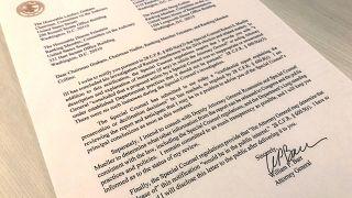 رسالة المدعي العام وليام بار بعد تسلمه تقرير المحقق الخاص مولر