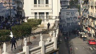 جانب من الاحتجاجات في الجزائر