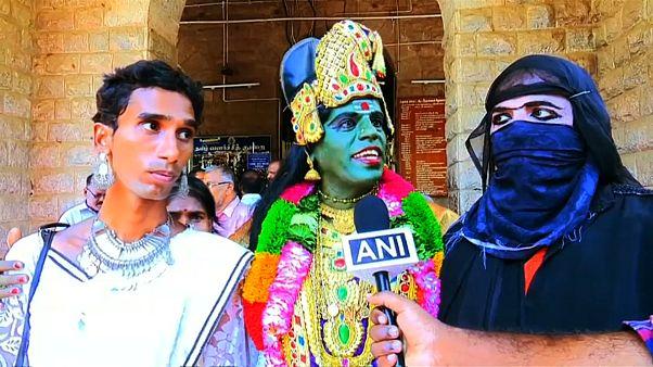 متحولة جنسياً ترشح نفسها للانتخابات الهندية وترفض التمييز على أساس الدين