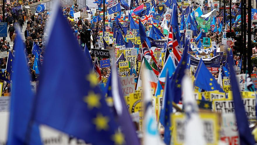 برکسیت؛ تظاهرات بریتانیاییها برای رفراندوم جدید و ماندن در اتحادیه اروپا