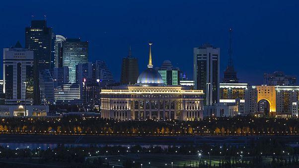 Kazakistan'ın başkenti Nursultan, (önceki adıyla Astana)