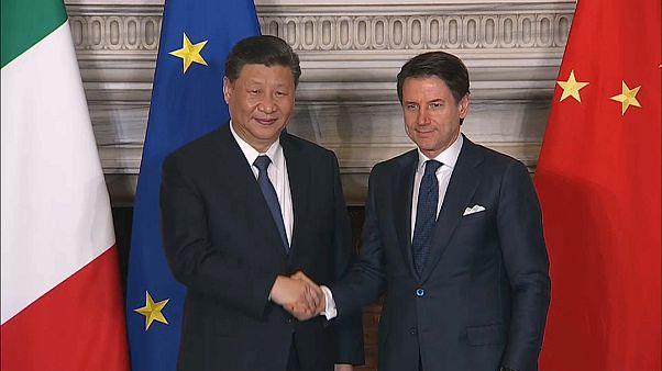 Cina-Italia, firmato il Memorandum d'intesa