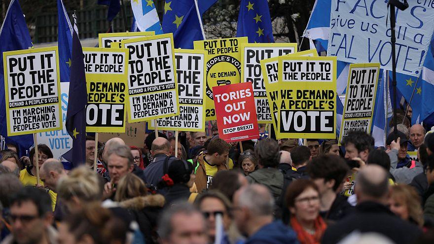 """""""1 Million March"""": Hunderttausende in London für 2. Brexit-Referendum"""